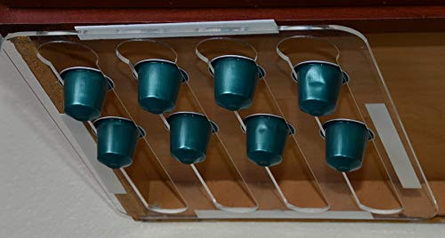 Marketing Holders Under Cabinets Coffee Pod Holder for Nespresso Lavazza Organizer Qty 24 by Marketing Holders (Image #6)
