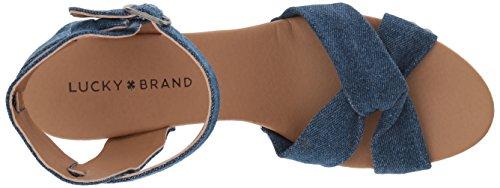 Lucky Whitneigh Women's Heeled Brand Indigo Sandal UYqgrYnx