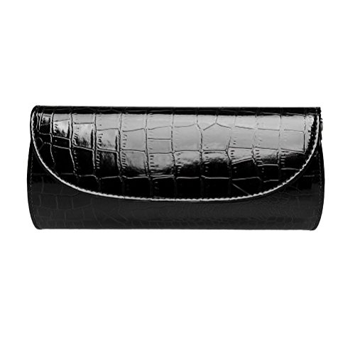Crocodile Skin Bags (Fashion Road Evening Clutch, Croc Skin Embossed Clutch Purses For Women, Handbags For Party And Wedding)