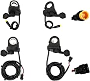 WuXing Thumb Throttle, Waterproof/Common Connector,Bicycle Modification Accessories,108-L/108X-R Electric Spee