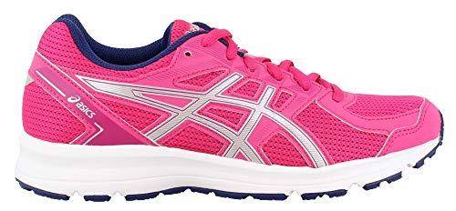 ASICS New Women's Jolt Running Shoe Fuchsia Purple/Silver 6