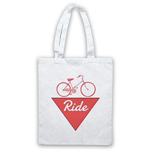 Ride Bike Fanatic Bolso Blanco
