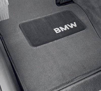 'BMW Genuine Gray Floor Mats for E46 - 3 SERIES ALL MODELS COUPE & SEDAN (1998 - 2006), set of Four'