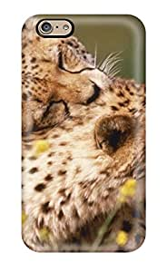 High-end Case Cover Protector For Iphone 6(affectionate Cheetahs) 7810358K73027387