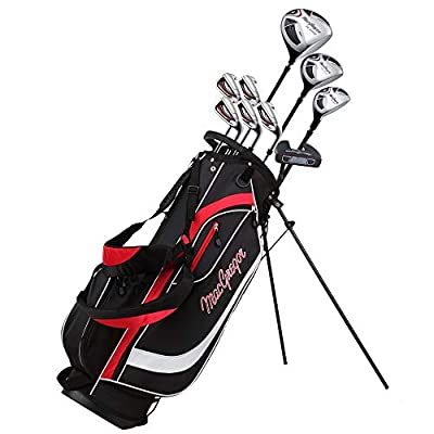 MACGREGOR Golf CG2000 Mens Golf Club Package Set with Stainless Steel Irons, All Graphite SHAFTS, Regular Flex