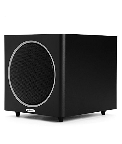 Polk Audio PSW110 10-Inch Powered Subwoofer (Single, Black) by Polk Audio