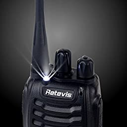 Retevis H-777 Walkie Talkie 3W Signal Band UHF 400-470MHz Two Way Radio(6 Pack)