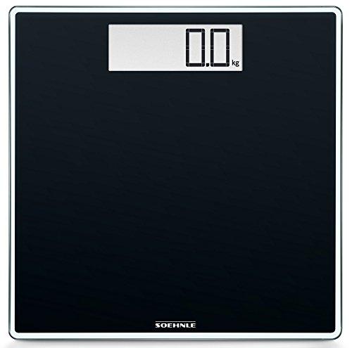 Soehnle 63860 Style Sense Comfort Digital Bathroom Scale   Black