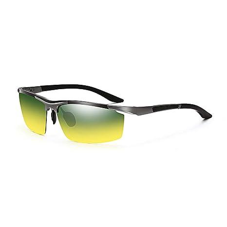 Gafas de sol Aviador Vogue UV Running Aluminio y magnesio para día y Noche - Retro