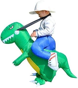 Fenteer Disfraz De Dinosaurio Inflable Disfraz De Halloween para ...