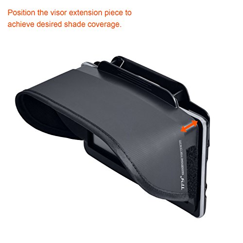 TFY GPS Navigation Sun Shade Visor Plus Flexible Visor