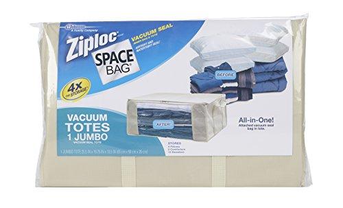 Space Bag  Stackable Vacuum-Seal Space-Saver Tote, - Air Tote Jumbo