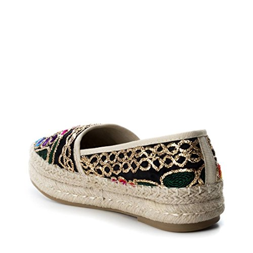 Nero Espadrillas Refresh 64312 Donna Black XvTWAqw