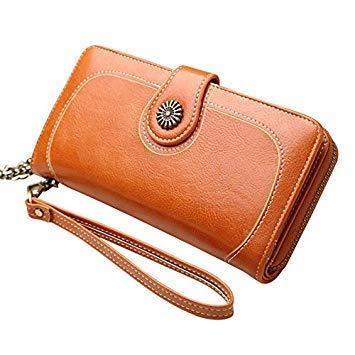 7cffe86d4f3 Restore Ancient Ways Women Artificial Leather Wallet Long Clutch ...