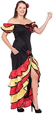 Xmas - Disfraz de sevillana para mujer, talla UK 10-14 (AC595 ...