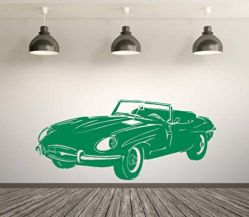Wall Decals Classic Vintage Retro E Type Jaguar Convertible for sale  Delivered anywhere in Canada