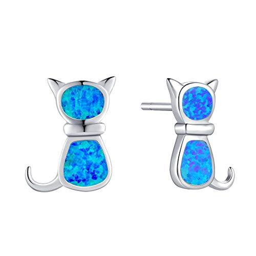 Cat Opal Earrings - 8