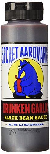Secret Aardvark Drunken Garlic Black Bean Sauce, 10.5 OZ. (Sauce Salted Soy)