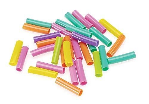 (Darice Plastic Kids Bead Straws 75 Grams- (1193-96))