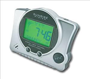 Morning Sunrise System Dawn Dusk Sun Alarm Clock SRS100US