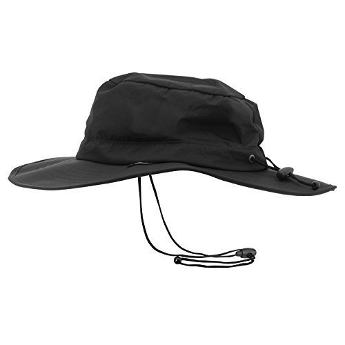 Frogg Toggs NTH103-01 ToadSkinz Waterproof Boonie Hat, Black