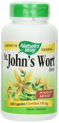 Nature's Way St. John's Wort, 350mg , 180 Capsules (pack of 3)