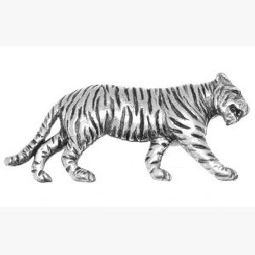 Pin regalo de peltre en de grabada caja Tiger de Idea zgOfqg