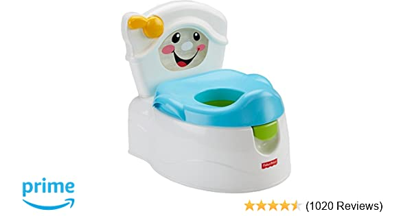 Amazon Fisher Price Learn To Flush Potty Toilet Training Potties Baby