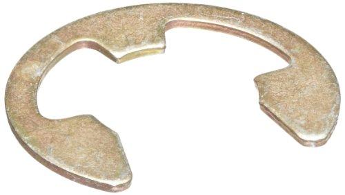 [해외]E- 스타일 외부 고정 링, 테이퍼 진 섹션, 방사형 어셈블리, SAE 1060-1090 탄소강, 아연 황색 크로메이트 도금 피니쉬, 인치, 미국 제/E-Style External Retaining Ring, Tapered Section, Radial Assembly, SAE 1060-1090 Carbon Steel, Zinc Yell...