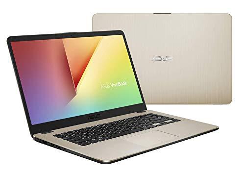 "ASUS VivoBook 15 R505ZA-BR675 - Portátil de 15.6"" HD (AMD Ryzen 5 2500U, 8 GB RAM, 256 GB SSD, AMD Radeon Vega 8, sin sistema operativo) Metal Oro - Teclado QWERTY Español 5"