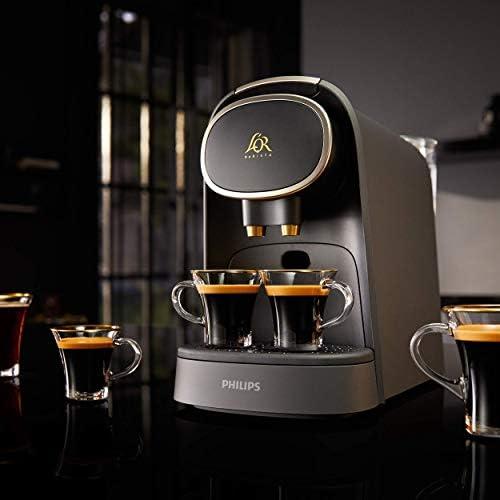 L'OR Barista LM8016/90 Machine à café à capsules Noir Mat et finition métalisée