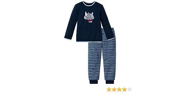 Schiesser Captn Sharky Kn Schlafanzug Lang - Pijama Niños: Amazon.es: Ropa y accesorios