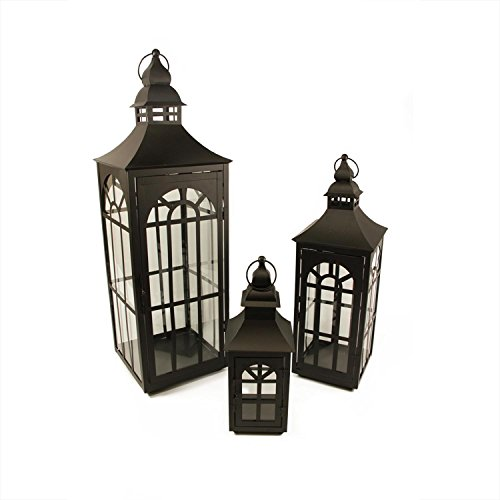 Set-of-3-Black-Asian-Inspired-Pillar-Candle-Holder-Lanterns-26