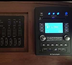 Amazon Com Irv Technology Irv66 Am Fm Cd Dvd Mp3 Mp4 Usb