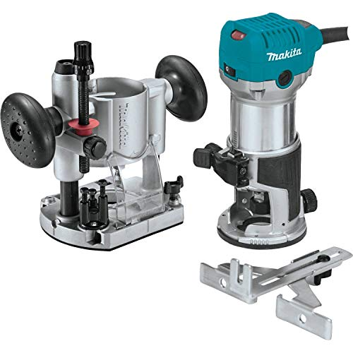 Makita RT0701CX7 1-1/4 HP Compact Router Kit (Speed Safety Router Cut)