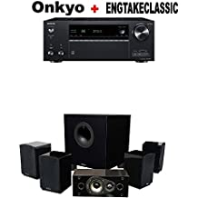 Onkyo TX-NR787 9.2 Channel Network A/V Receiver Black + Energy 5.1 Take Classic Home Entertainment System (Set of Six, Black) Bundle