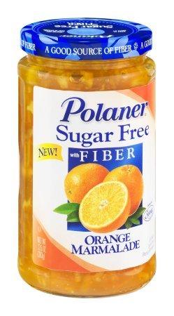 Polaner Sugar Free Orange Marmalade with Fiber 13.5oz
