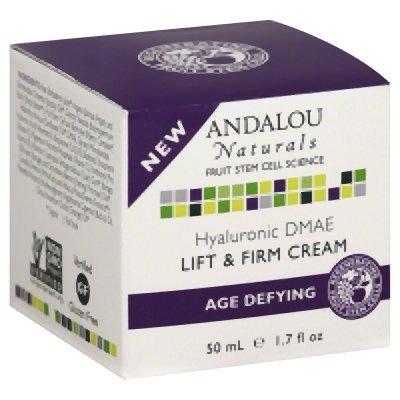 Andalou Naturals Cream Hyaluronic Dmae Age 1.7 Oz