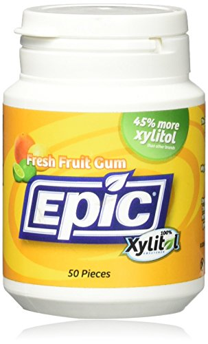 (Epic Dental, Fresh Fruit Gum, 50)