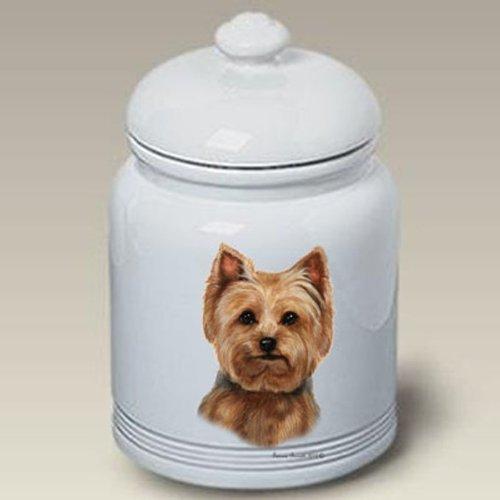 - Best of Breed Yorkie (Puppy Cut): Ceramic Treat Jar 10
