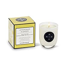 Abbott Collection Home Sm Lemongrass Candle-5Oz