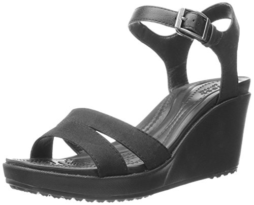 Leigh Sabot Crocs II Donna Nero 060b Black BvgFwqg