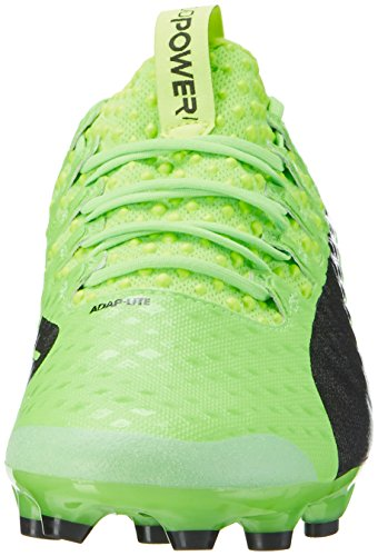 Puma Evopower Vigor 1 Ag, Botas de Fútbol para Hombre Verde (Green Gecko-puma Black-safety Yellow 01)
