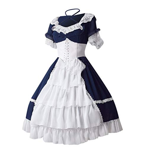 Halloween Carnival Maid Dress,Forthery Women's German Dirndl