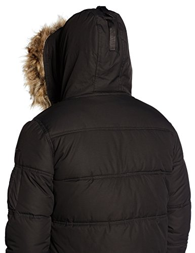 NYC Men's Schott Snork Coat Black 7dTxqB8