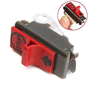 Gardening Chain Saw Engine Stop Switch Replacement for Husqvarna Poulan Craftsman