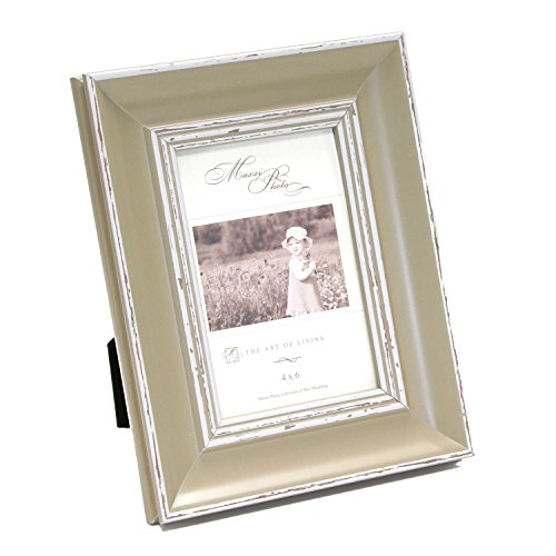 Maxxi Designs Photo Frame with Easel Back, 5 x 7, Sage Green Verona