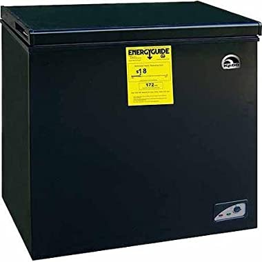 Igloo FRF454-B-BLACK 5.1 cu. ft. Chest Freezer, Energy Star, Black