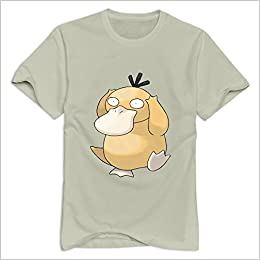 6f486805 Amazon.com: Natural Ninva Psyduck 100% Cotton T-shirt For Man Size L  (6262364236325): Books