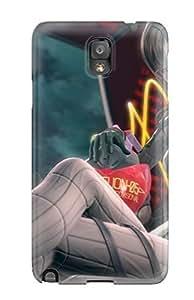 New UaoPjaH1138Jvbtw Neon Genesis Evangelion Anime Girl Skin Case Cover Shatterproof Case For Galaxy Note 3